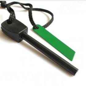 打火石镁棒贝尔户外求生打火棒野外取火器钢丝线锯工具