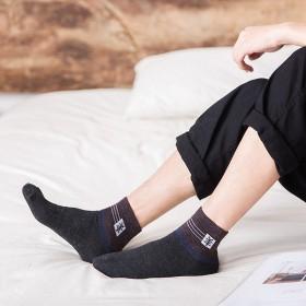 冬季仿羊毛加绒加厚男女士中筒长筒袜运动防臭保暖吸汗