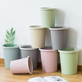 垃圾桶塑料纸篓简约垃圾筒压圈小纸篓垃圾袋客厅废纸桶
