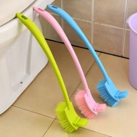 马桶刷清洁刷洁厕刷卫生刷长柄刷厕所刷子坐便器双面刷