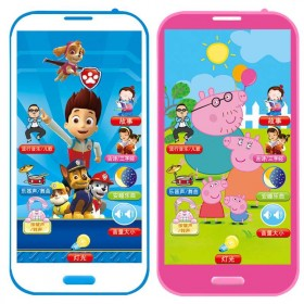 可充电可咬防口水儿童玩具手机0-3-5岁早教益智