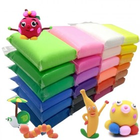 超轻粘土12色【亏完涨价】儿童橡皮泥12色彩泥套装