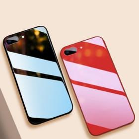 苹果678plusXRMAX硅胶软玻璃保护套防摔