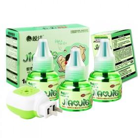 【皎洁】电热蚊香液3液1器四件套电热蚊香液无味驱蚊