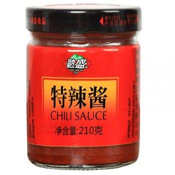 【两瓶装】融盛朝天椒制作特辣酱210g两瓶火锅蘸料