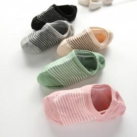 袜子女短袜浅口韩国可爱隐形船袜秋季薄款纯棉运动袜