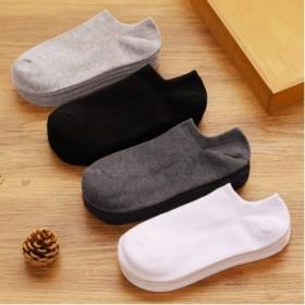 【拍下发5双】袜子男潮短袜船袜男士冬季纯棉防臭吸汗