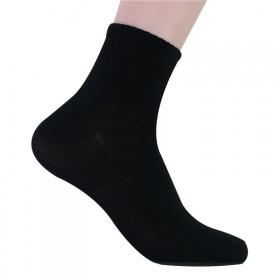 江南兔 男士纯色中筒棉袜 吸湿排汗休闲 袜子 L1