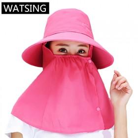 夏季遮阳帽防晒遮脸帽