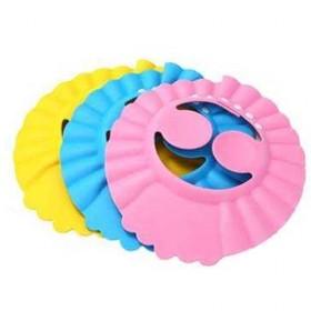 儿童洗头帽护耳可调节宝宝洗发帽婴儿洗澡帽防水浴帽