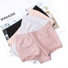 《3件装》日系性感内裤女纯棉裆提臀中腰平裤