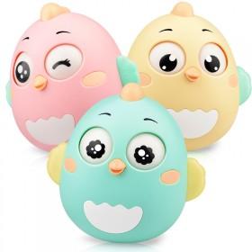 儿童不倒翁玩具0-3-6-12个月婴儿益智玩具宝宝