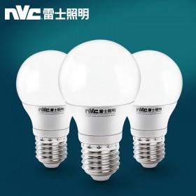 雷士照明E27球泡灯大品牌灯泡led高亮3W一个