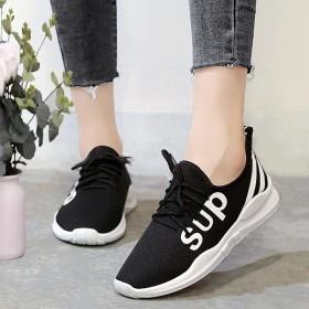 老北京布鞋女鞋透气网面运动跑步鞋软底防滑休闲鞋学生
