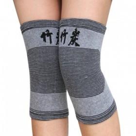 保暖透气竹炭护膝护膝男女士通用四面弹针织护膝运动护