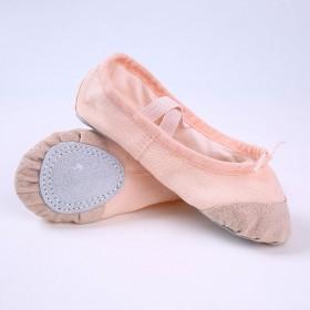 帆布软底舞蹈练功鞋瑜伽芭蕾舞鞋儿童猫爪鞋舞蹈鞋女