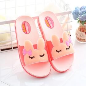 女童拖鞋夏季儿童室内防滑软底浴室可爱小公主亲子拖鞋