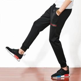 新款大码男式休闲裤小脚哈伦裤运动长裤