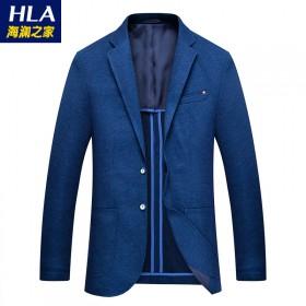 商场品牌春季男式纯色西装外套韩版修身休闲西服单西装