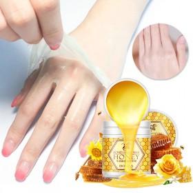 泊泉雅牛奶蜂蜜滋润手蜡手膜手部护理护肤品补水保湿
