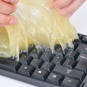 汽车出风口清洁胶软胶电脑键盘清洁泥车载清洗清理工具