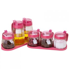 厨房用品玻璃调味罐盐罐佐料盒调料盒家用防漏油壶酱油