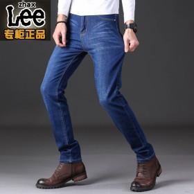 新款牛仔裤男弹力直筒宽松休闲夏季青年潮流韩版男士裤