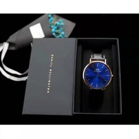 DW丹尼尔惠灵顿手表新款 湛蓝系列专柜超薄手表