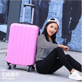 行李箱女拉杆皮箱大学生旅行箱韩版箱子男万向轮20寸