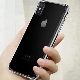 iPhoneXSmax防撞透明手机壳8p软气囊保护