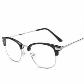 无度数网红装逼平光镜男 明星同款文艺青年韩版潮眼镜