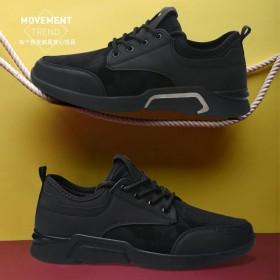 潮流运动鞋男学生青少年跑步鞋男学院风平底鞋旅游鞋男