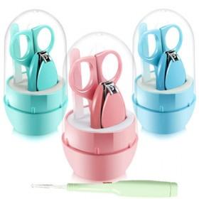 送耳勺婴儿指甲剪5件套宝宝指甲刀新生儿童防夹肉指