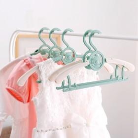 【拍6份】可伸缩 30支婴儿衣架0-18岁可用
