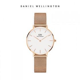 DW丹尼尔惠灵顿 手表 新款 欧美简约金属表带