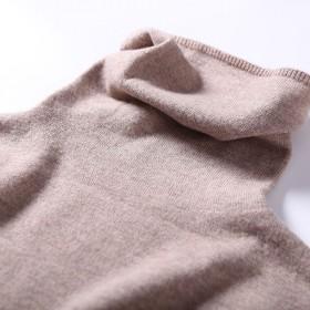 初语浅秋春季女士澳洲纯羊毛衫毛衣打底衫高领
