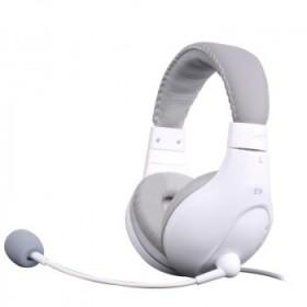 头戴式电脑耳机,带麦带话筒可听力和录音