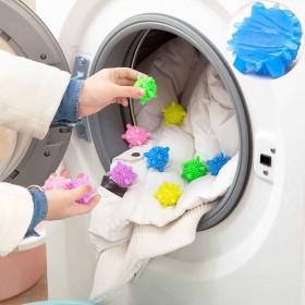 【20装】洗衣机清洁去污洗护球实心防缠绕洗衣摩擦球