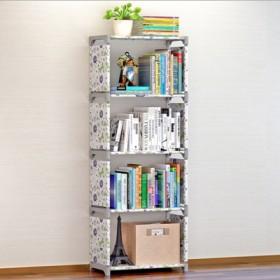 置物架落地多层收纳架经济型简易书架书柜创意组合层架
