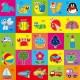 儿童剪纸可涂色(送2剪刀)幼儿园diy手工益智玩具  2073323