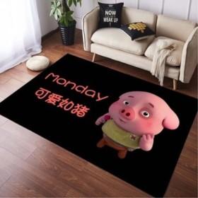 可爱满铺网红ins儿童房卧室满铺床边榻榻米地毯地垫