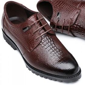 精品真皮商务正装皮鞋