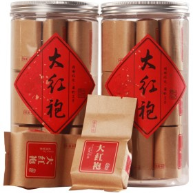 大红袍茶叶礼盒装特级武夷山正岩水仙茶浓香肉桂茶罐装