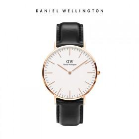 DW丹尼尔惠灵顿 新款欧美简约皮带手表