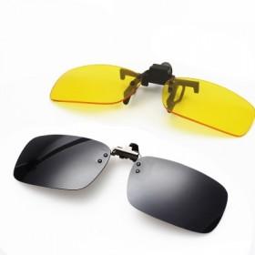 墨镜夹片太阳镜男女墨镜偏光镜钓鱼开车专用夜视镜夹片