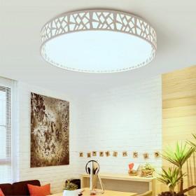 【40cm】LED吸顶灯简约立方圆形过道走廊阳台灯