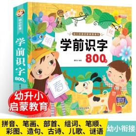 宝宝学前识字800个儿童读儿歌唐诗学龄前识字