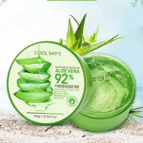 600mlx2瓶芦荟胶芦荟膏四季补水保湿护肤面膜