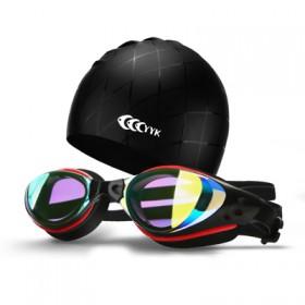 游泳眼镜透明高清防雾防水泳镜成人男女游泳镜