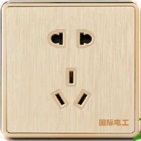 发一个五孔插座面板墙式墙壁电源开关插座